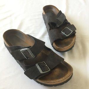 Birkenstock Leather Sandals, adjustable Straps 39